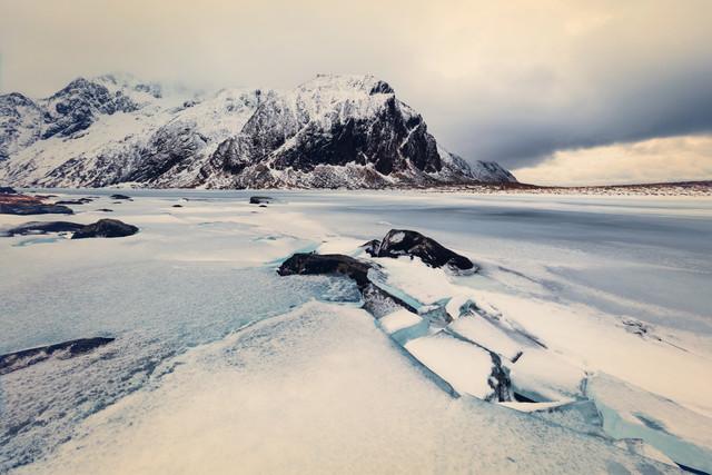 [:] BROKEN ICE [:] - fotokunst von Franz Sussbauer