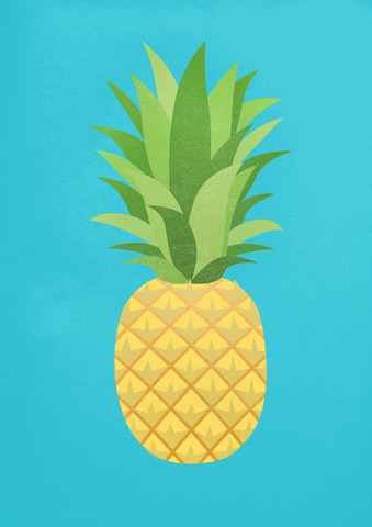 Ananas - fotokunst von Angela Capillo