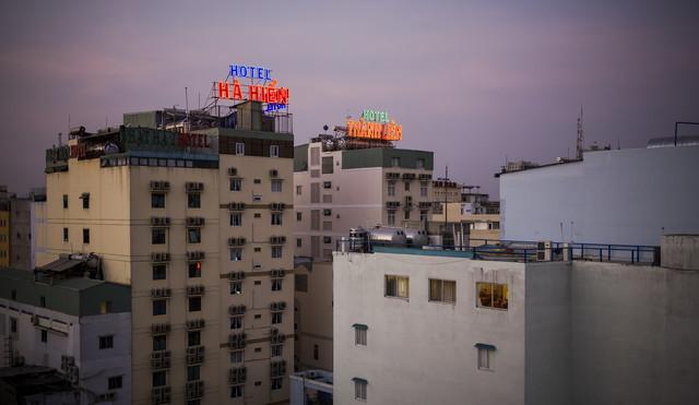 Hotel Ha Hien - fotokunst von Jörg Carstensen