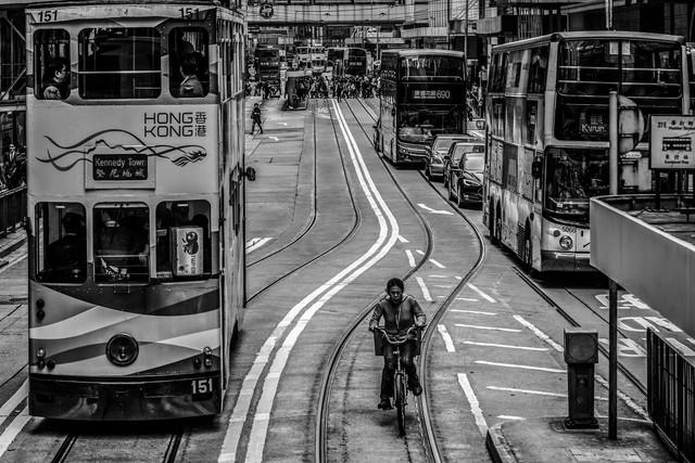 hong kong - fotokunst von Michael Schaidler
