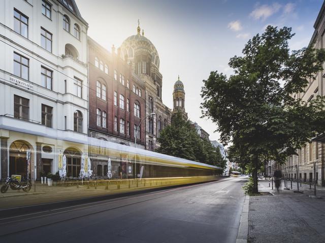 Neue Synagoge Berlin - fotokunst von Ronny Behnert