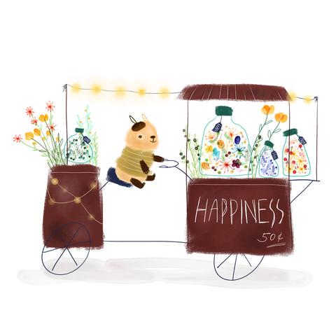 Happiness Seller - fotokunst von Tingting Chen