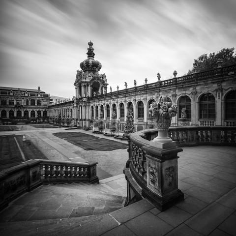 Zwinger Dresden - fotokunst von Richard Grando