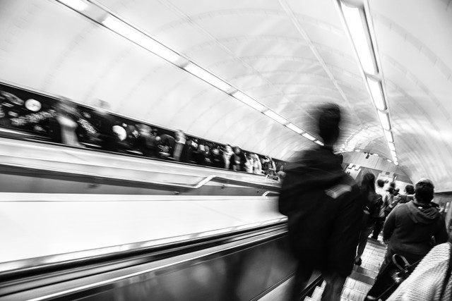 London - The Tube - fotokunst von Steffen Rothammel