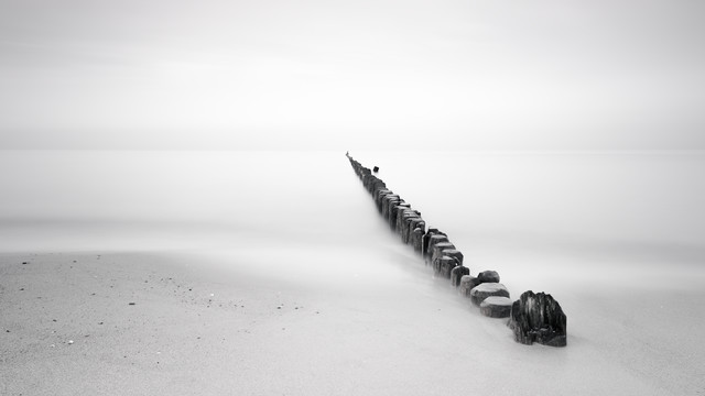 beach light - fotokunst von Holger Nimtz