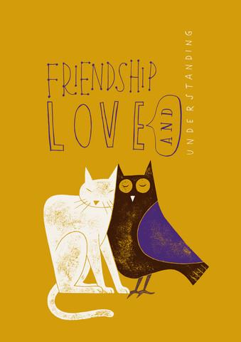 Friendship, Love & Understanding - fotokunst von Jean-Manuel Duvivier