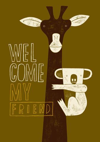 Welcome my friend - fotokunst von Jean-Manuel Duvivier
