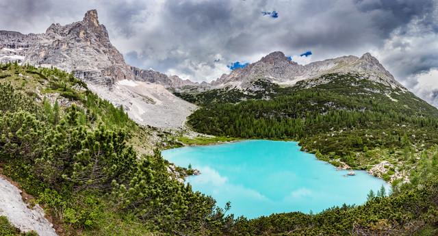 Lago di Sorapis - fotokunst von Markus Van Hauten