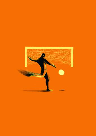 Fußball - fotokunst von Enzo Lo Re