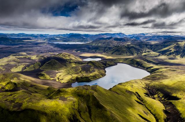 Südliches Hochland - fotokunst von Lukas Gawenda