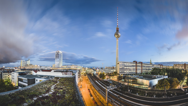 Berlin Mitte Panorama - fotokunst von Ronny Behnert