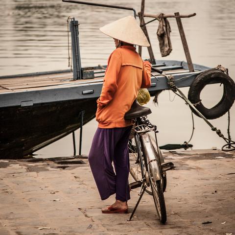Am Fluss - fotokunst von Sebastian Rost
