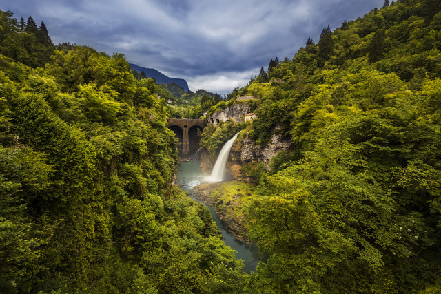 Dolomites I - fotokunst von Philip Gunkel
