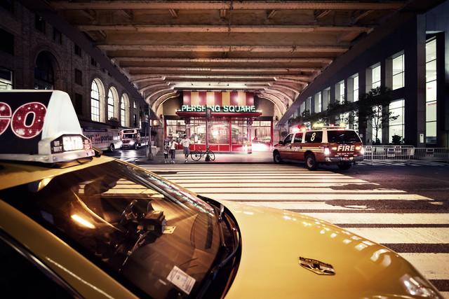 [Pershing Square - NYC],* 618 USA 2012 - fotokunst von Ronny Ritschel