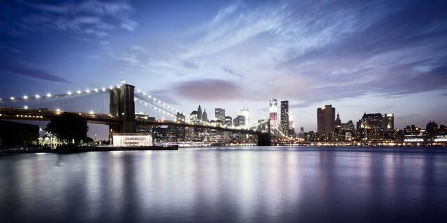 [Brooklyn Bridge - NYC] ,* 620 -  USA 2012 - fotokunst von Ronny Ritschel