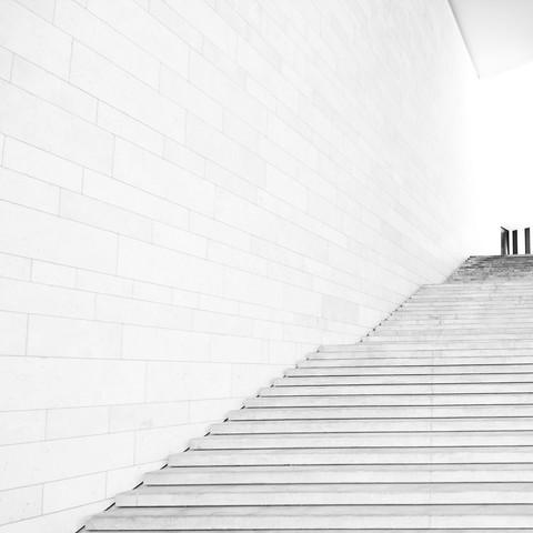 Der Aufgang - fotokunst von Alexander Kraft