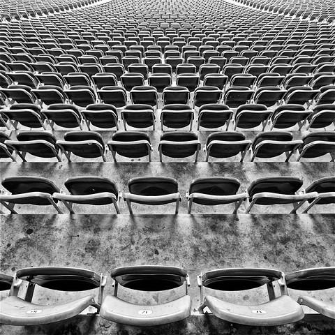 Freie Platzwahl - fotokunst von Alexander Kraft