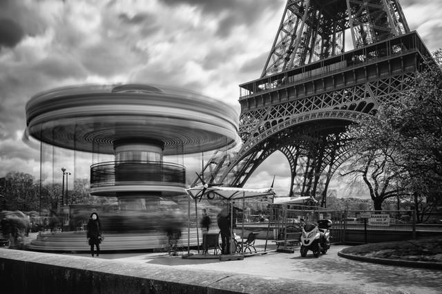 Eiffelturm - fotokunst von Mario Ebenhöh