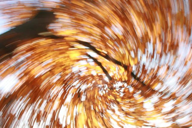 Herbstgalaxie - fotokunst von Timo Tamm