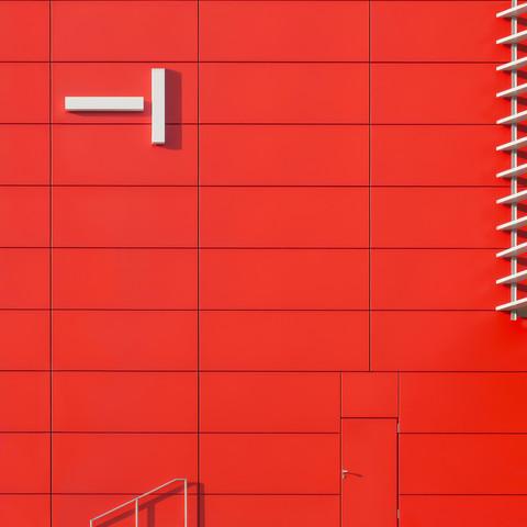 Die Wand - fotokunst von Klaus Lenzen