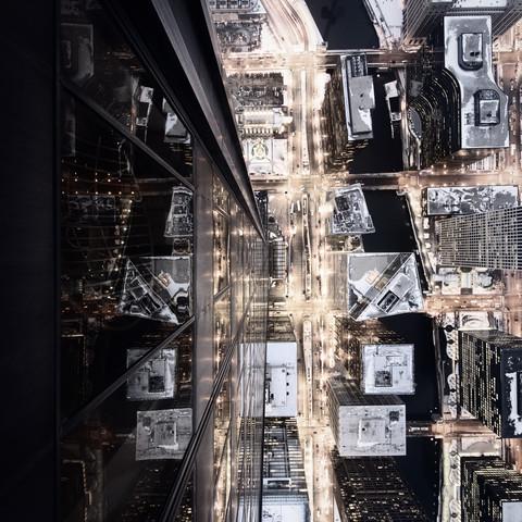 Citylights - Chicago - fotokunst von Ronny Ritschel