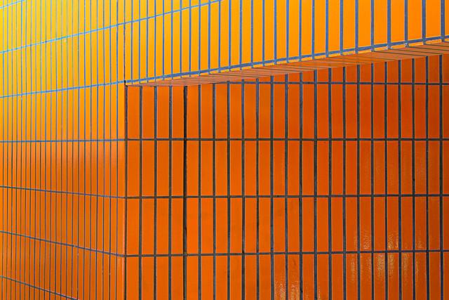 Orange IV - fotokunst von Michael Belhadi