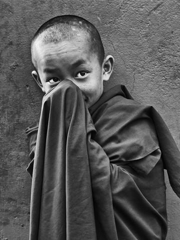 Buddha Eyes - fotokunst von Jagdev Singh