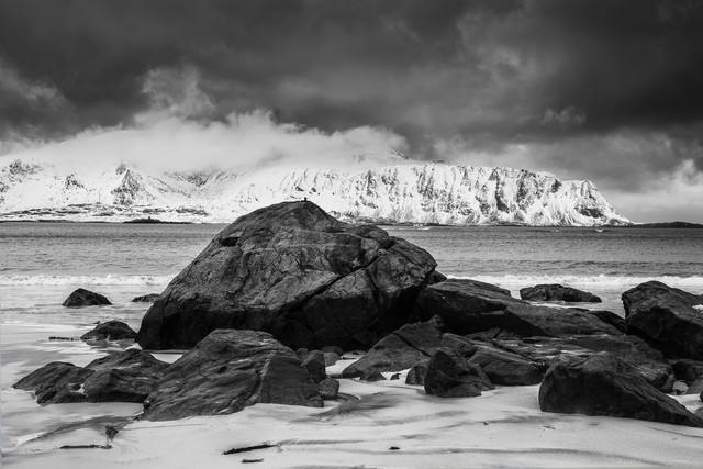 Ramberg, Lofoten - fotokunst von Mikolaj Gospodarek