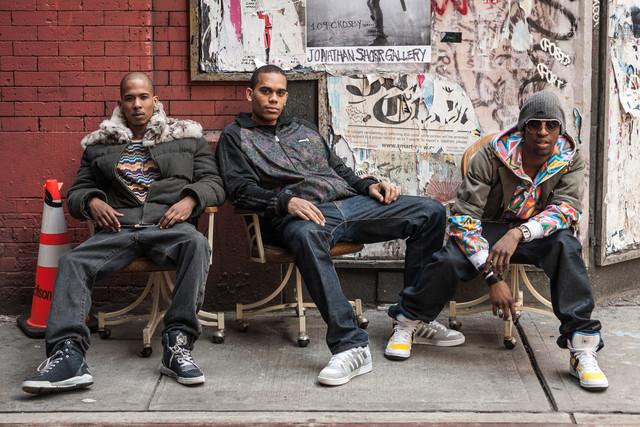 New Yorck Street Scene - fotokunst von Arno Simons