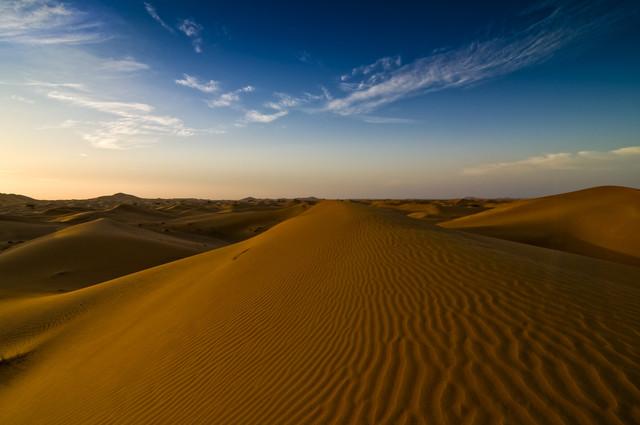Arabische Wüste - fotokunst von Daniel Schoenen
