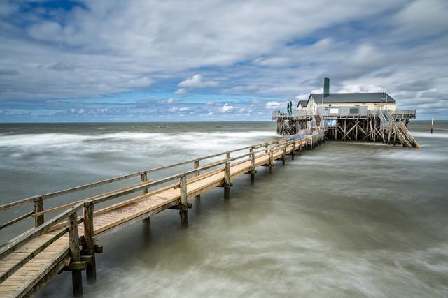 Küstenimpressionen in St Peter Ording - fotokunst von Stefan Schurr