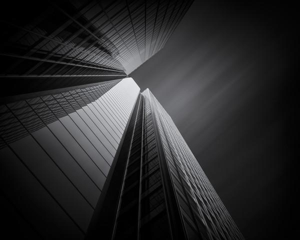 Black:Steel:Glass #2 - fotokunst von Martin Schmidt