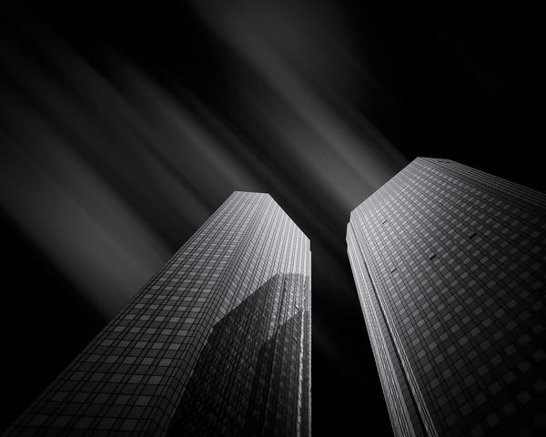 Black:Steel:Glass #3 - fotokunst von Martin Schmidt