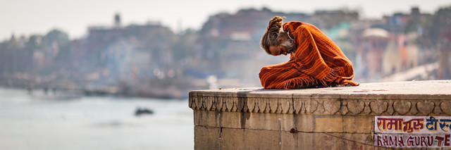 Rama Guru - Varanasi - fotokunst von Sebastian Rost