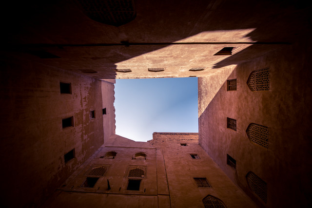 Oman: Jabreen Castle - حصن جبرين - fotokunst von Eva Stadler
