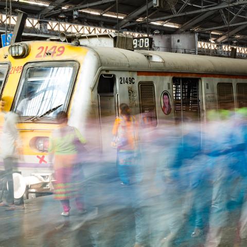 Victoria Station Mumbai - fotokunst von Sebastian Rost