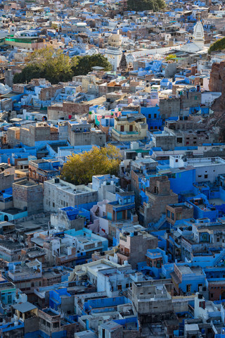 Die blaue Stadt - fotokunst von Sebastian Rost