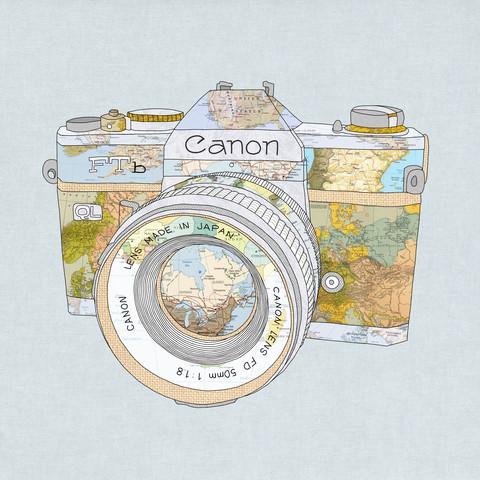 Travel Canon - fotokunst von Bianca Green