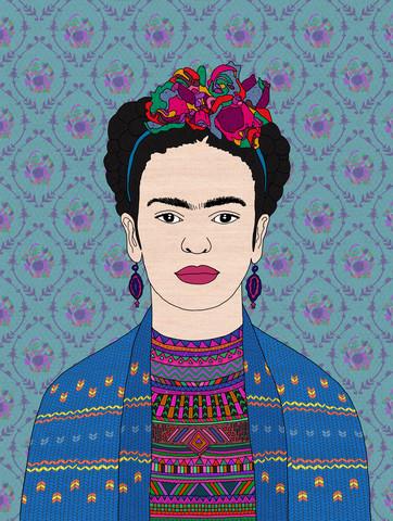 Frida Kahlo - fotokunst von Bianca Green