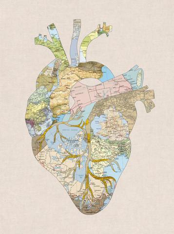 A Traveler's Heart II - fotokunst von Bianca Green