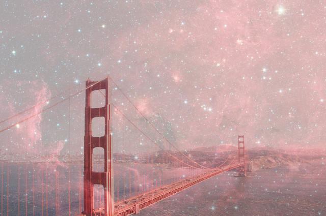 Stardust Covering SF - fotokunst von Bianca Green