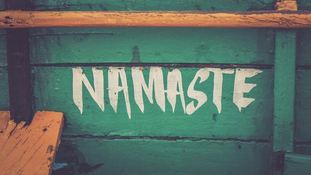 Namaste - fotokunst von Ilka Pia Claren