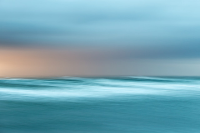rainy sunset - fotokunst von Holger Nimtz