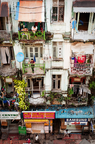 Myanmar exteriors - fotokunst von Simon Bode
