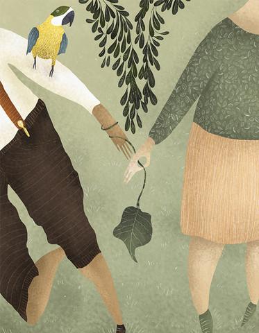 LOVE IN THE TIMES OF CHOLERA 1 - fotokunst von Amalia Restrepo