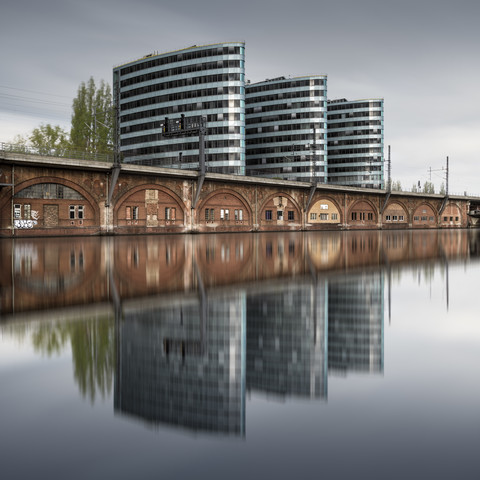Trias Towers Berlin - fotokunst von Ronny Behnert