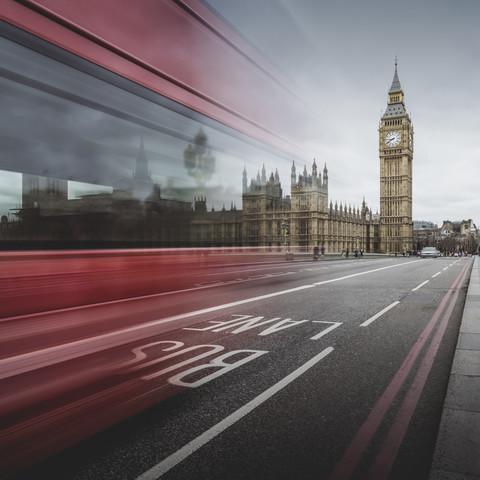 Big Ben  - London - fotokunst von Ronny Behnert