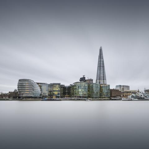 Skyline Study - London - fotokunst von Ronny Behnert