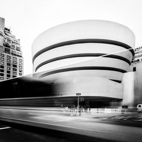 GUGGENHEIM MUSEUM – NYC - fotokunst von Christian Janik