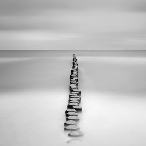 Groyne - fotokunst von Holger Nimtz